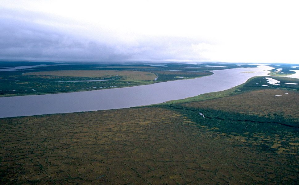 Средне - Сибирское плоскогорье.  Нажмите для увеличения.
